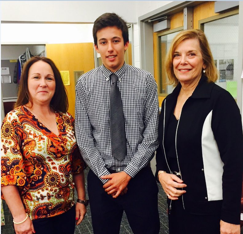 Marcia Hicks, Gianni Mejia & Broker Barbara Birkitt of Summit, NJ