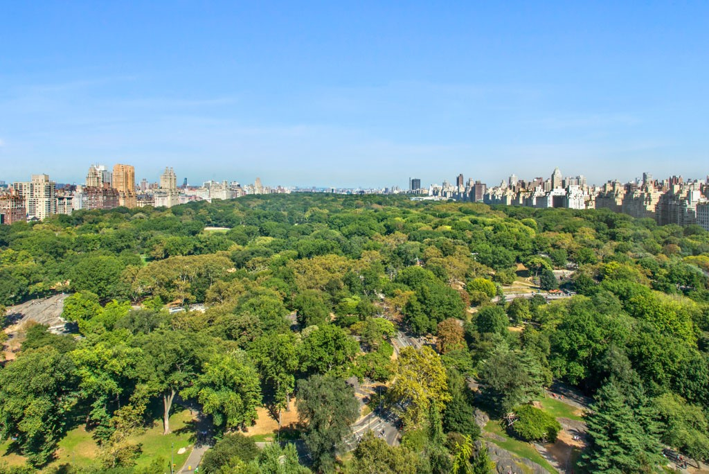 View of Central Park from the former Pavarotti residence