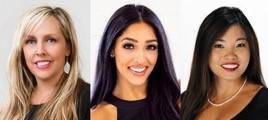 Broker Sherri Monteith, Sales Associate Bekkah Herman and Director of Marketing Nadine-Angela Arteche