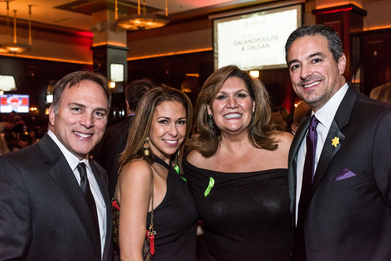 Pictured: Tony and Missy Jerfita, Nancy Nagy and Mark Pasquesi