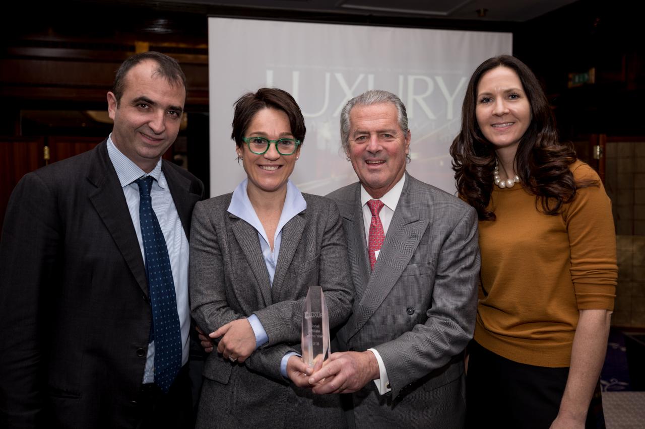 Pictured left to right: Lodovico Pignatti Morano, Diletta Giorgolo, John Brian Losh and Meghan Barry