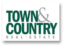 Town & Country Real Estate Logo