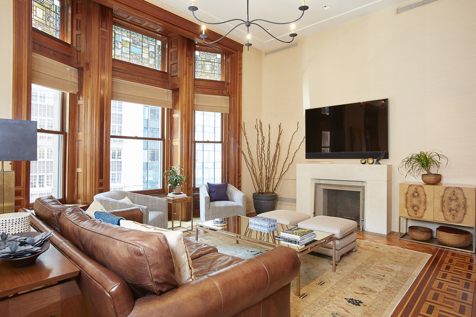 205 West 57th Street Living Room