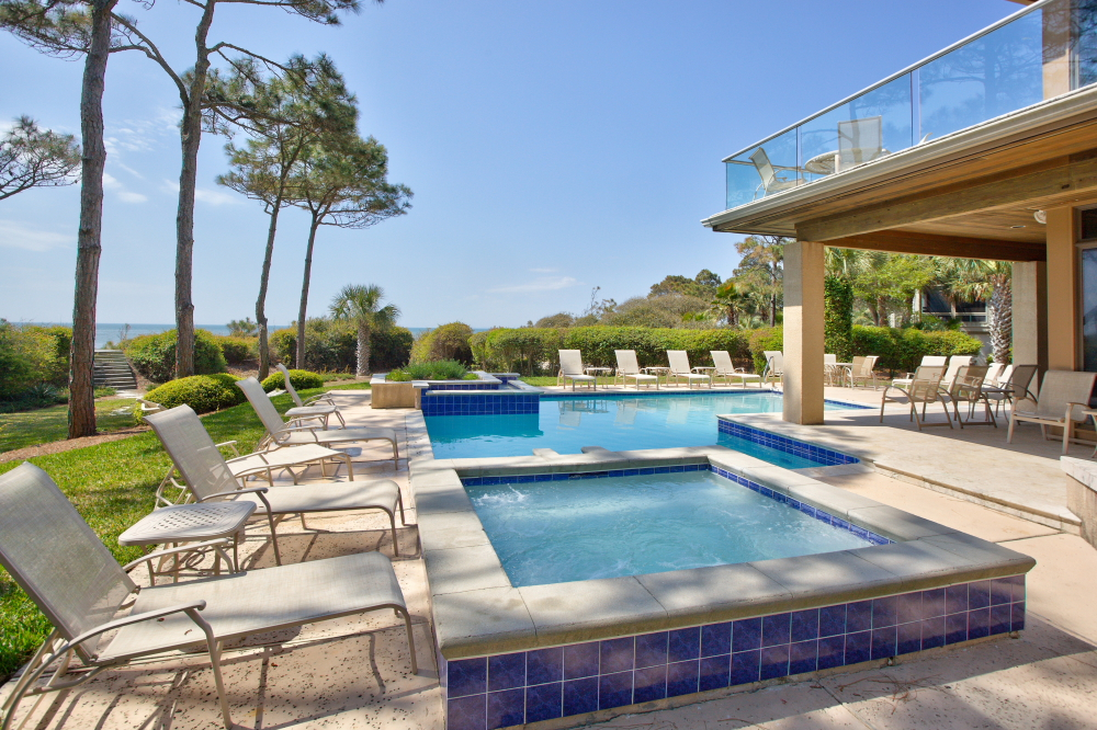 Sandpiper 7 Bedroom Luxury Oceanfront Home Hilton Head Island South Carolina