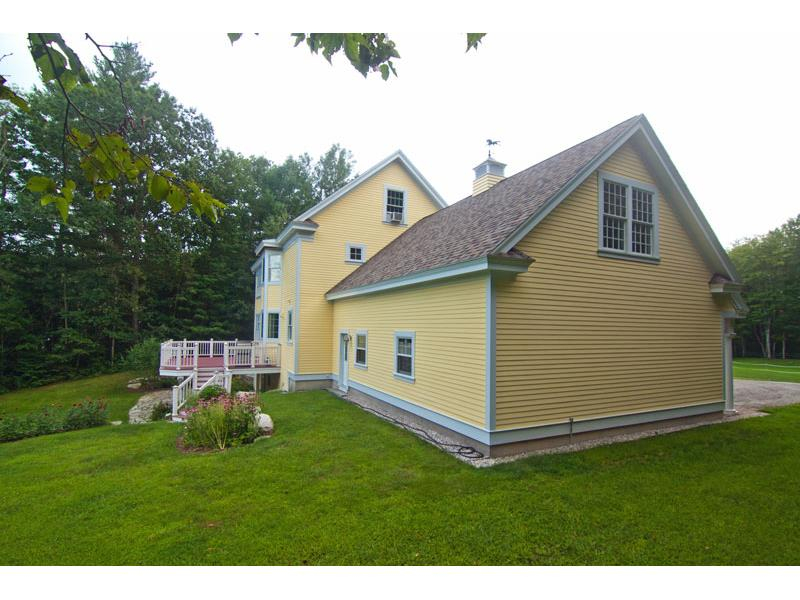 colonial single family north yarmouth me