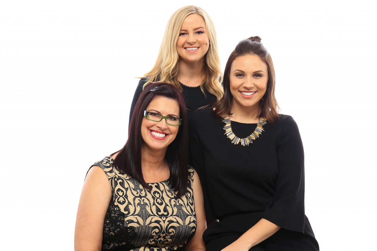 Pictured Left to right: Zephyr Real Estate Top Producer: Team Howe; Sherri Howe, Kristin Rolph and Samantha Hailer