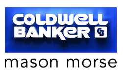 Coldwell Banker Mason Morse Real Estate Logo