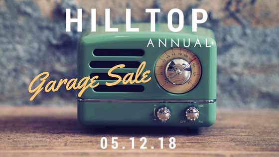 2018 Hilltop Garage Sale