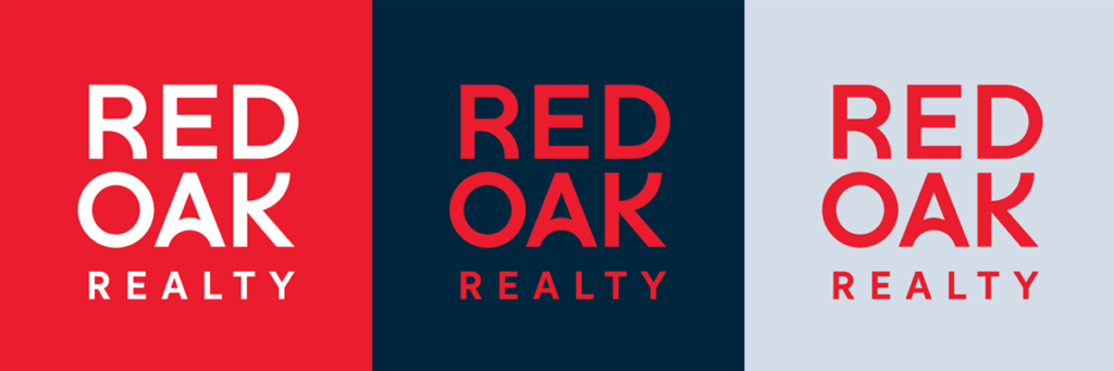 Red Oak Realty Logos
