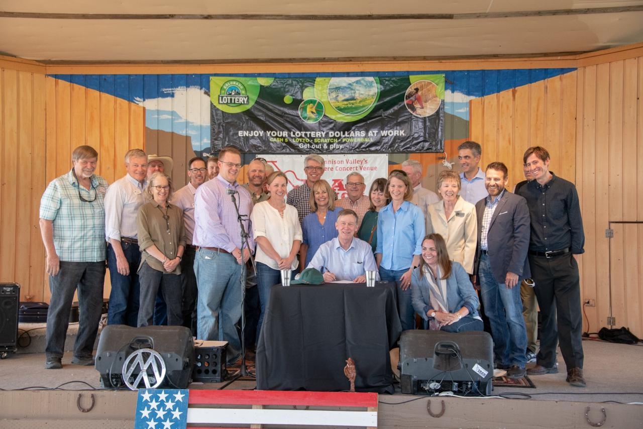 Governor John Hickenlooper signs bill SB 18-066