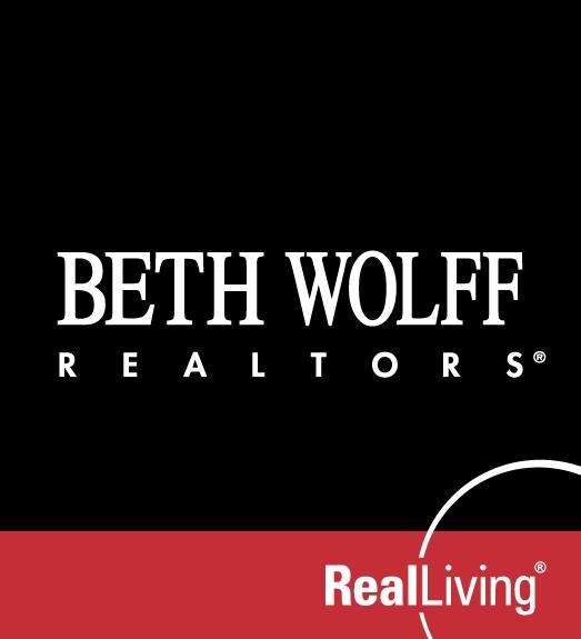 Beth Wolff Realtors Real Living Logo