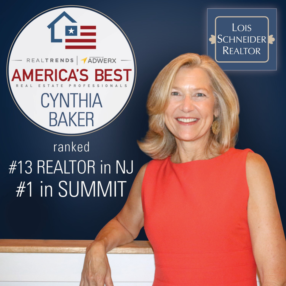 Cynthia Baker, Named to the 2018 REAL Trends America's Best Real Estate Professionals List