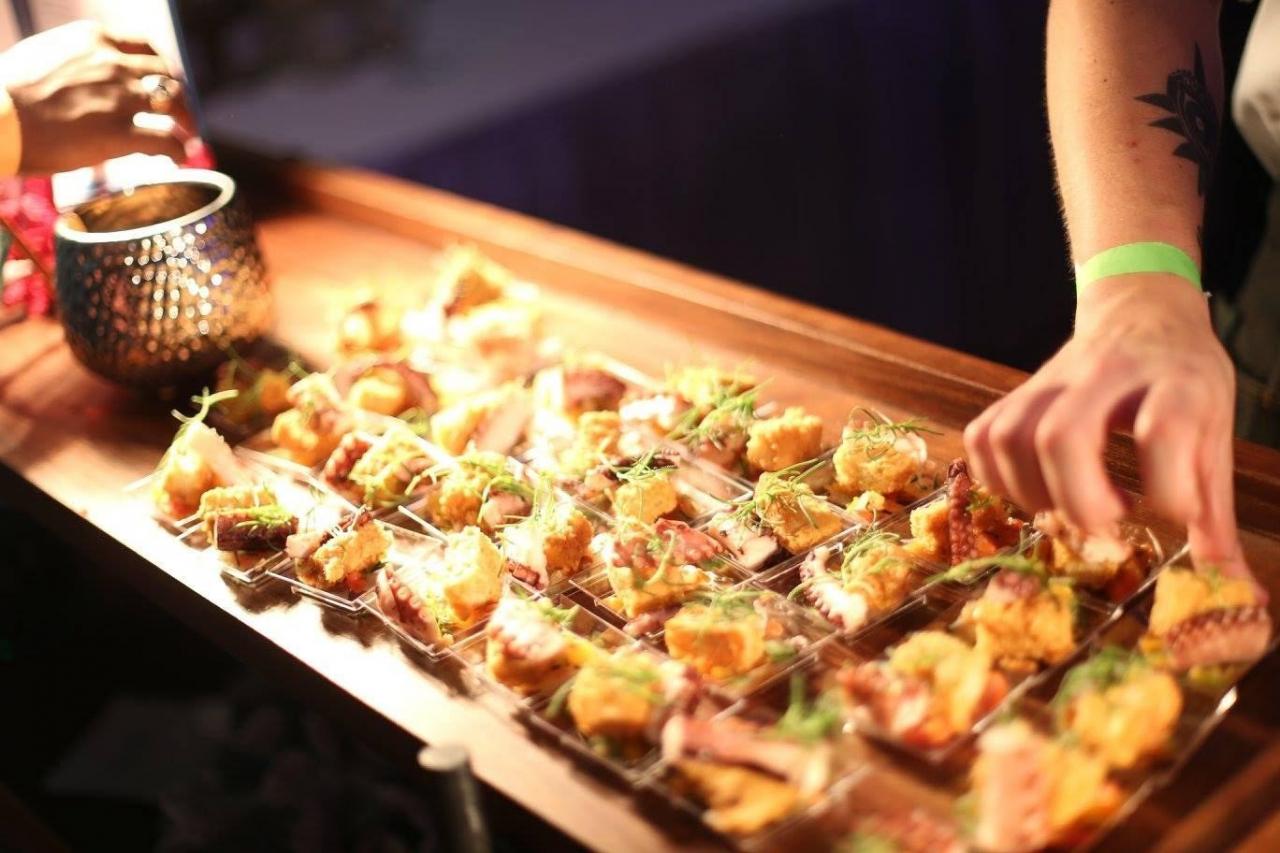 Hands for Hunger indoor food festival