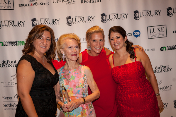 Pictured left to right: Nancy Suric, Elizabeth Stribling, Lori Huler Glick and Sarah Alvarez