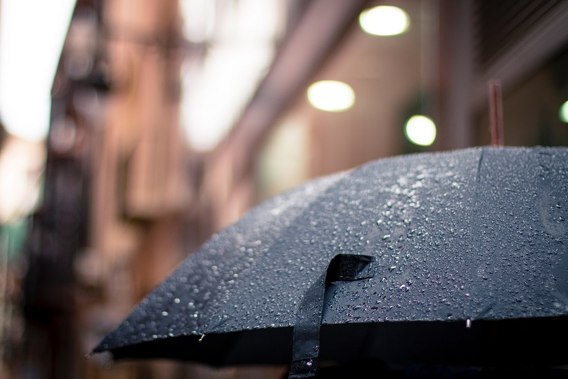 rainy day in victoria bc