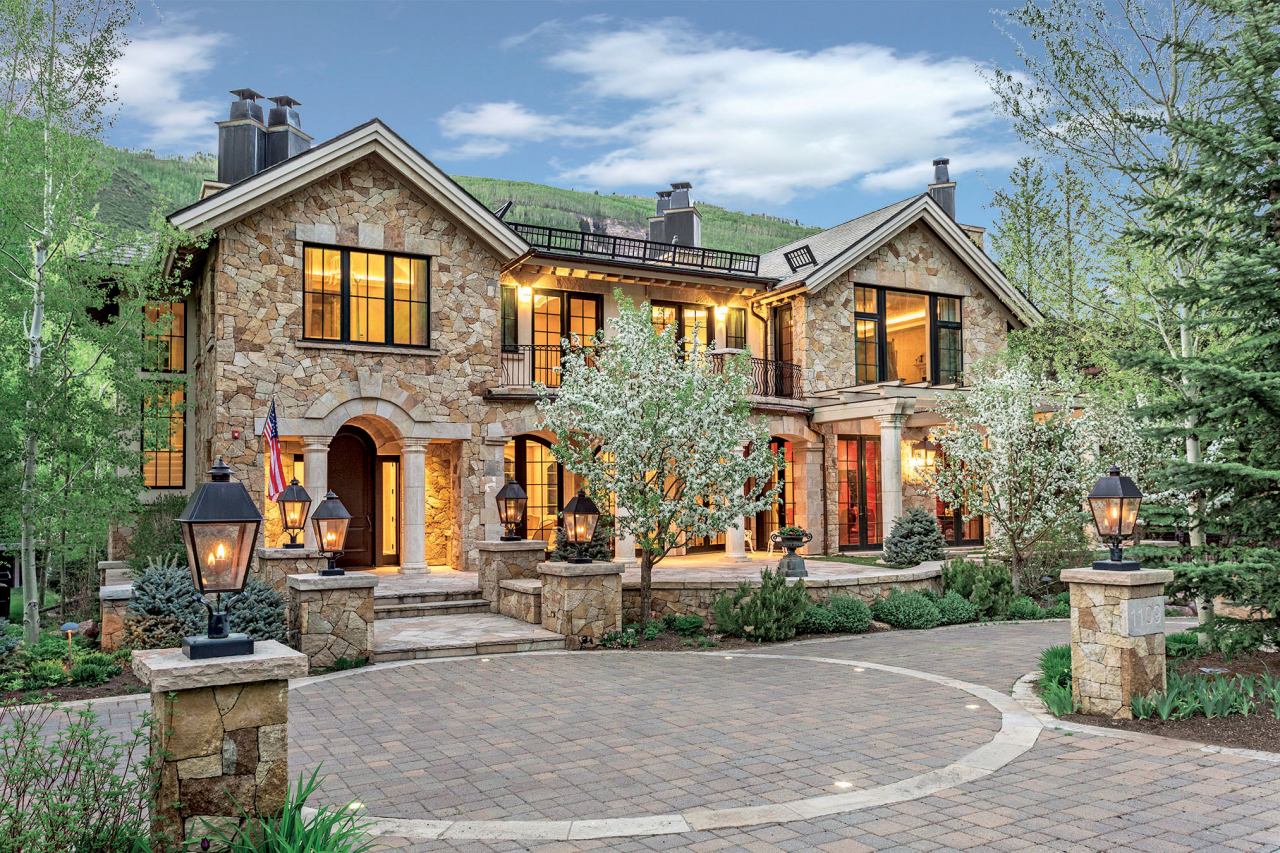 LIV Sotheby's International Realty broker Tye Stockton represented both the buyer and seller of 1109 Vail Valley Drive in Vail, CO for $17,250,000.