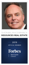 Thomas McCormack, Managing Partner and Broker of Resources Real Estate