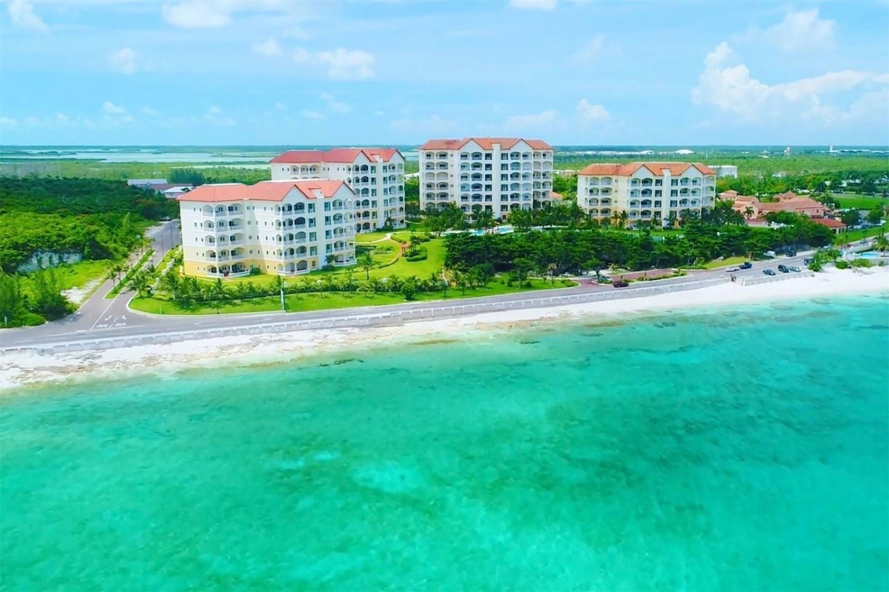 Retirement with a View. For Bahamians looking toward retirement, condominiums like those found at Caves Heights (pictured above) on West Bay Street offer the best of both worlds: smaller, easier to maintain spaces coupled with resort-style amenities.