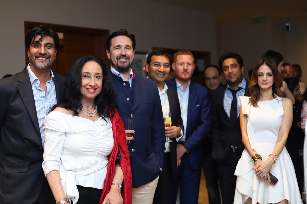 L'Hermitage hosted an exclusive Champagne and High Tea event on Wednesday, May 29, 2019
