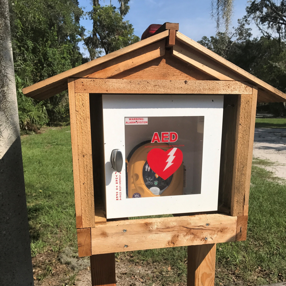 Replacement AEDs for New River Linear Trail and Alljoy public dock
