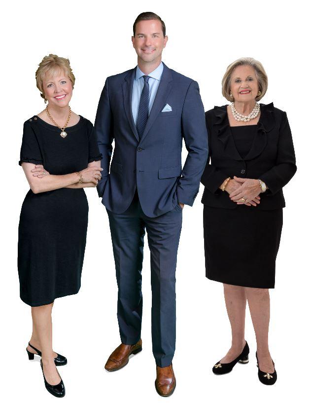 Kay Brown, Luke Webb and Jeanine Harris