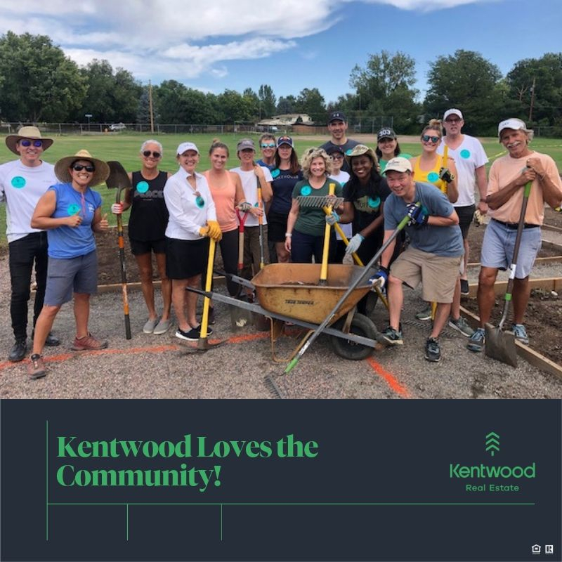 Kentwood City Properties Partnered with Denver Urban Gardens to Expand Community Gardens in the Denver Metro Area