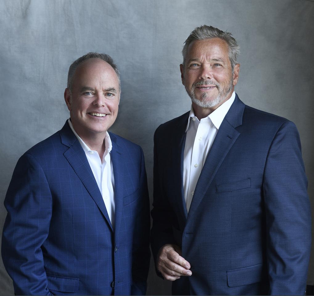 Senior partner and broker Thomas McCormack and partner Robert Diakon of Resources Real Estate