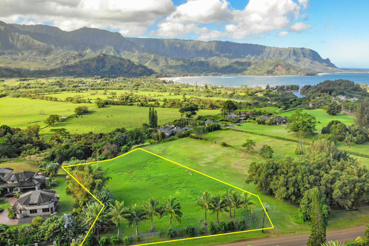 4901 Hanalei Plantation Road Lot 10 A and B