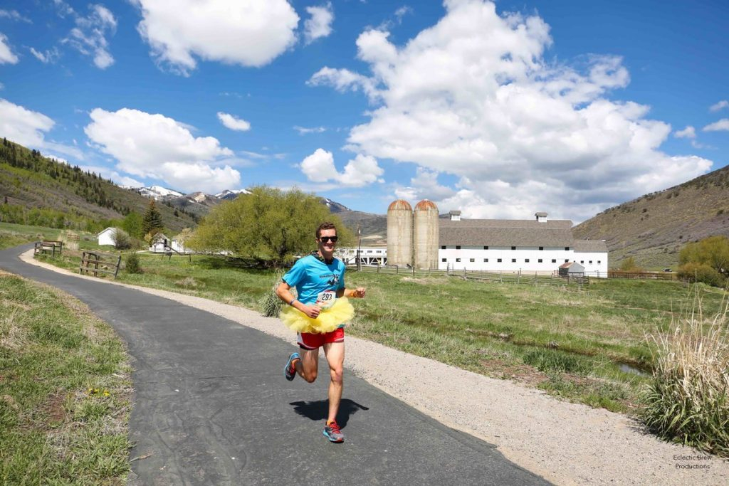 (Photo credit: Park City Education Foundation/Running with Ed)