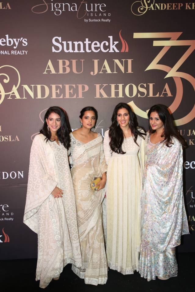 Radhika Merchant, Ishita Salgaonkar and Shloka Mehta