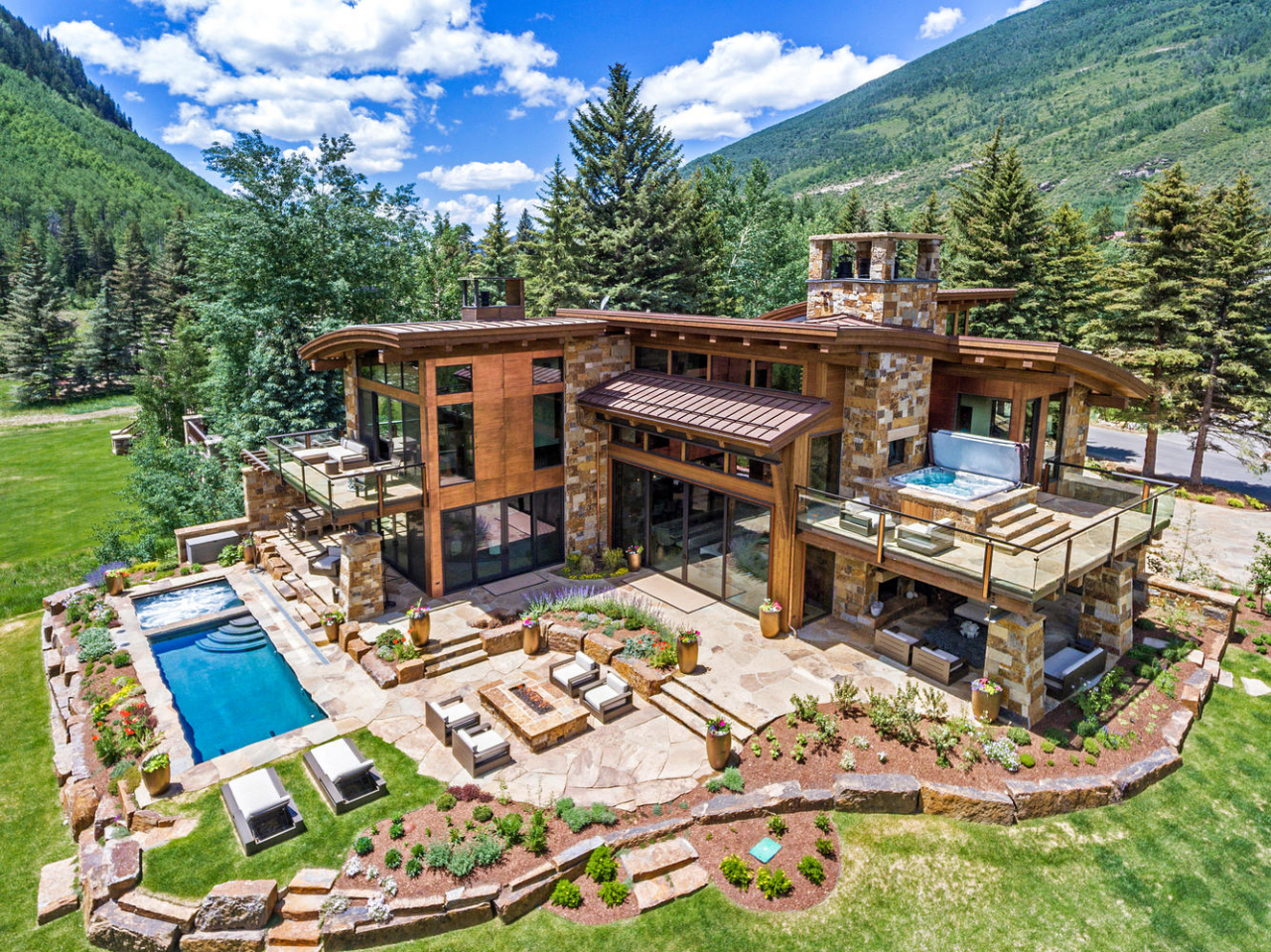 : LIV Sotheby's International Realty broker Tye Stockton represents the sale of 2950 Booth Creek Drive in Vail, CO for $20,750,000.
