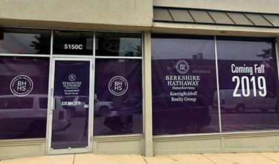 Berkshire Hathaway HomeServices KoenigRubloff Realty Group's newest office at 5150 Main Street, Downers Grove.