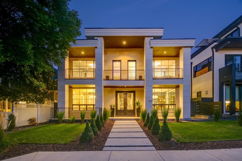 444 Garfield Street in Cherry Creek North. Photo courtesy of LIV Sotheby's International Realty
