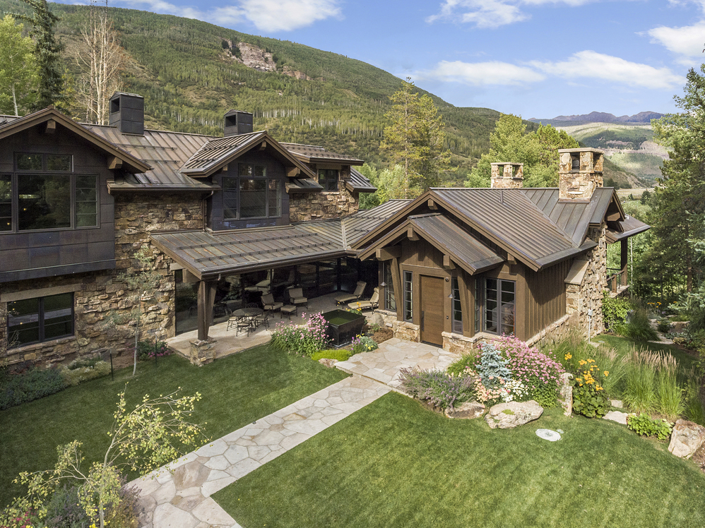 LIV Sotheby's International Realty broker, Tye Stockton, represented the buyers of 1183 Cabin Circle in Vail Valley, which recently sold for $17,000,000
