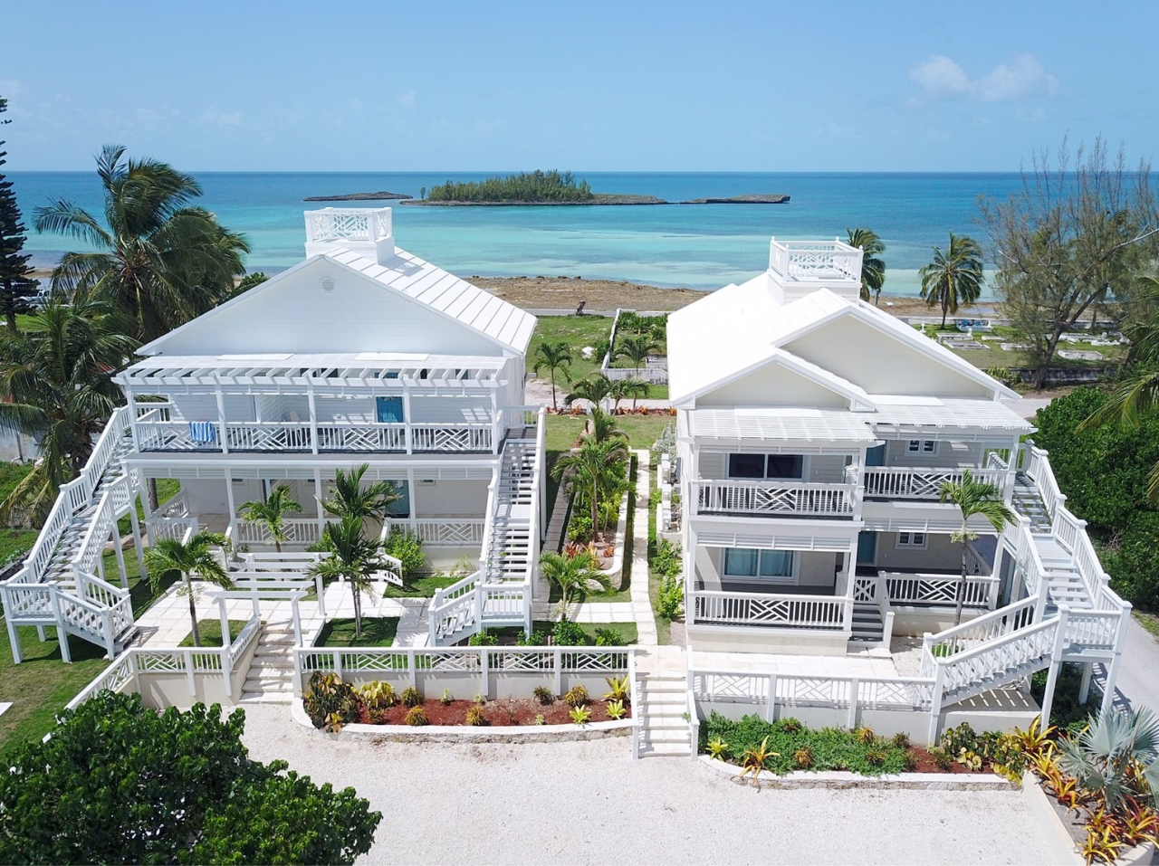 The Price is Right. Homes located inland such as those in Rainbow Bay and condominiums like Anchor Point (above) in Governors Harbour, Eleuthera, are getting a lot of attention from buyers this winter as homeowners look for economical ways to enter into the housing market on mainland Eleuthera.