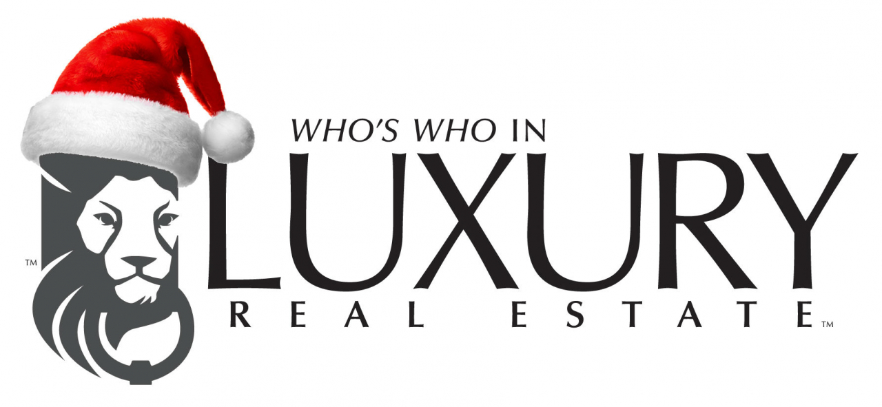 Who's Who in Luxury Real Estate Holiday Logo