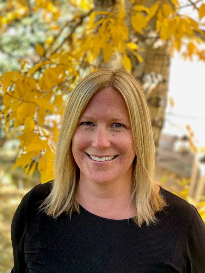 Jaima Giles, broker at LIV Sotheby's International Realty, receives Gunnison-Crested Butte's REALTOR® of the Year award.