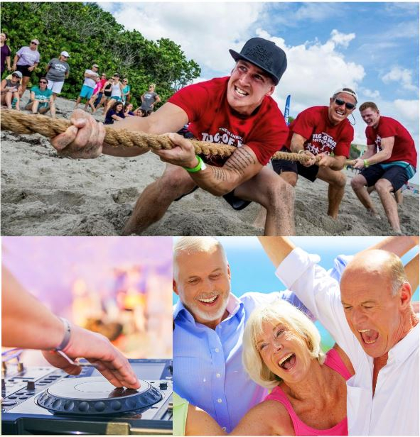 2nd Annual Tug-Of-War to Stop Cancer event on Sunday, April 5th at Jupiter Civic Center Beach