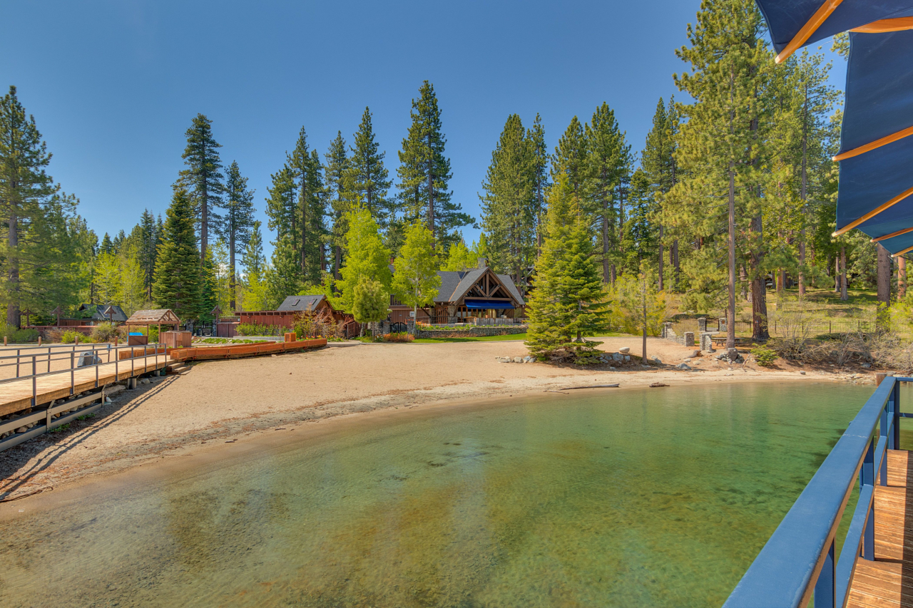 Chambers Landing - Only one home for sale in this exclusive gated lakefront community steeped in Tahoe history.