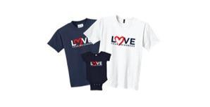 Love Thy Neighbor t-shirts