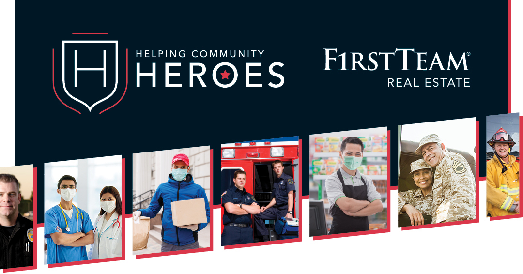 New Helping Community Heroes program to help First Responders and other essential workers save tens of thousands of dollars when buying and selling a home.