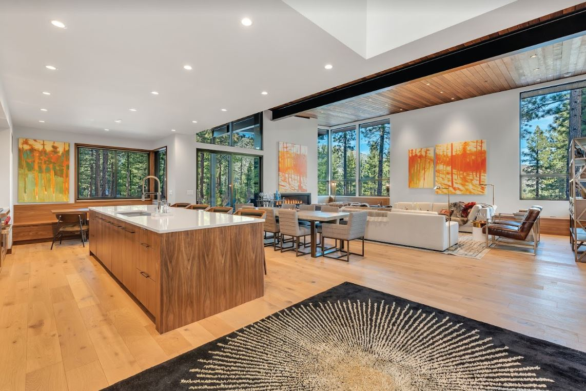 Open Kitchen and Living