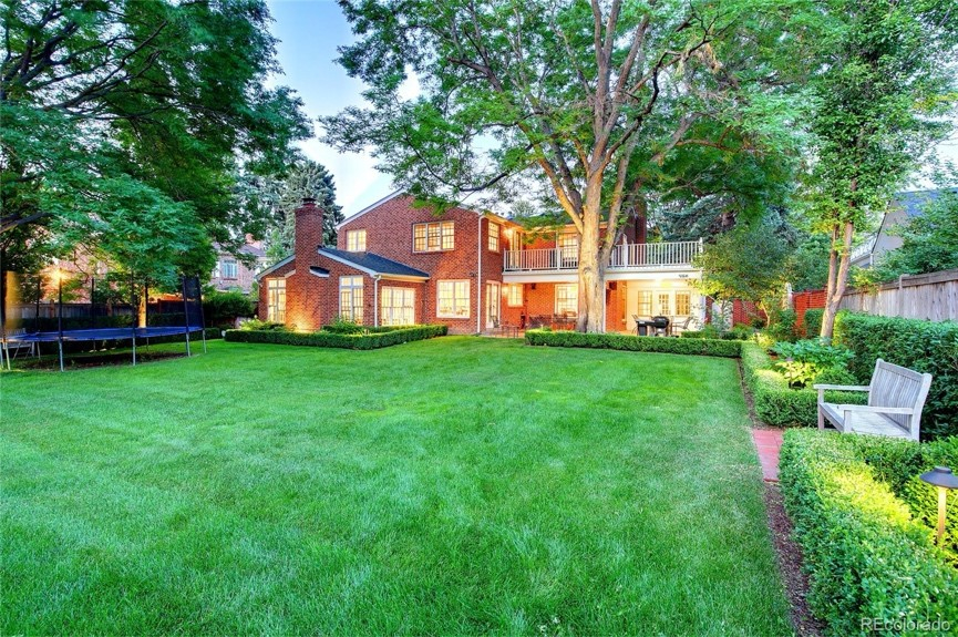 Estate in the heart of Old Crestmoor in Denver  sold for $2,045,000