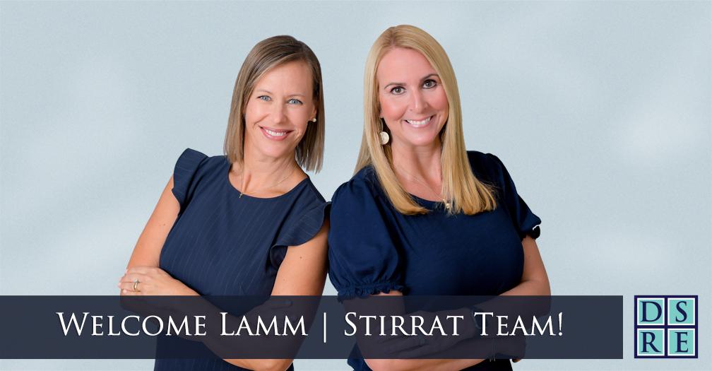 Kimmie Lamm and Becky Stirrat - the Lamm/Stirrat Team