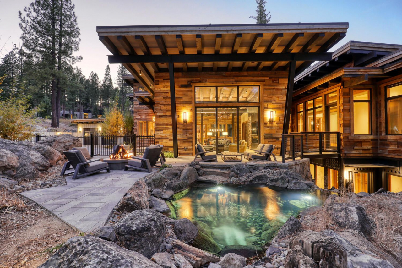 9512 Wawona – Home sales in Truckee's Martis Camp neighborhood were up by 88% in 2020 with an average sale price of $5,821,291. Photo courtesy Sierra Sotheby's International Realty.