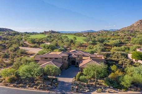 The gated, golf course Estancia estate sold for $3.15 Million