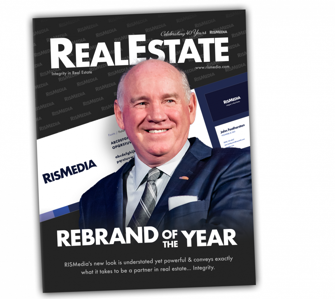 """Top design and branding agency Real Estate Webmasters provided RISMedia's new modern look and the tagline """"Integrity In Real Estate"""" to help define the future of the storied brand."""