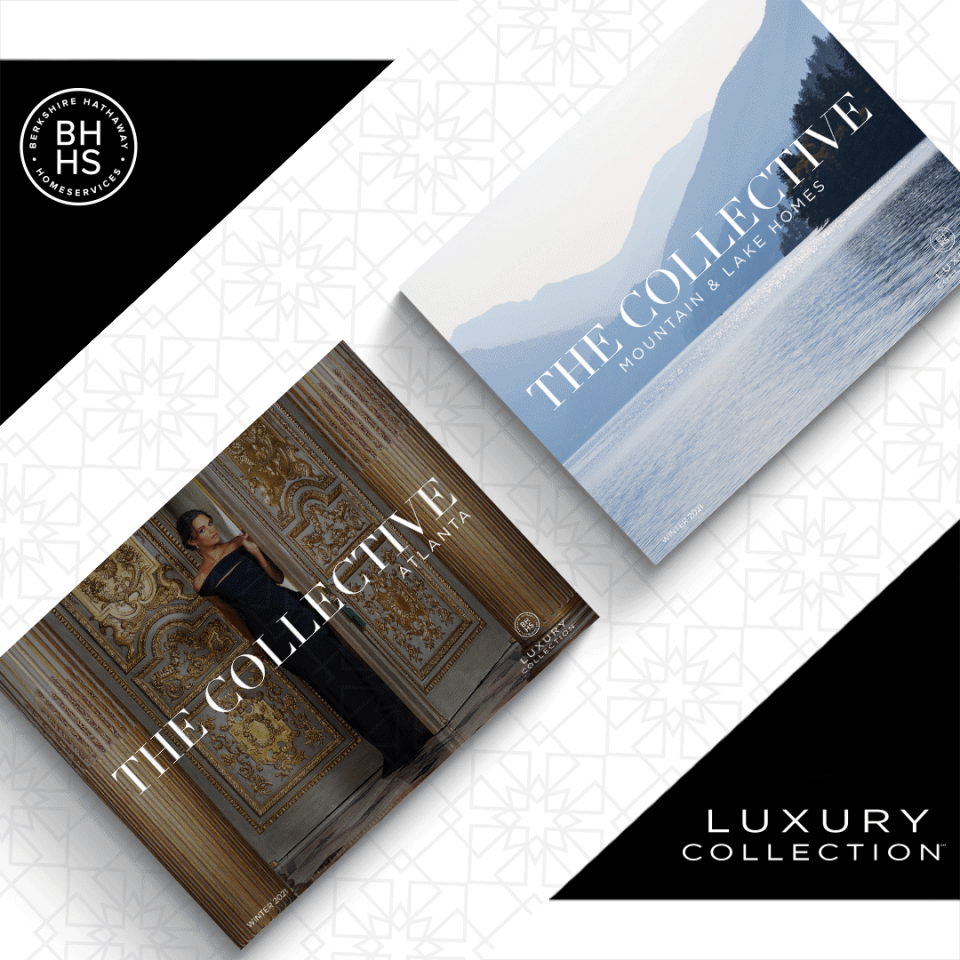 The Winter 2021 Issue of The Collective Atlanta and the inaugural The Collective Mountain and Lake