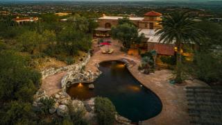 Donald R. Diamond and Joan B. Diamond's Spanish Colonial Tucson estate