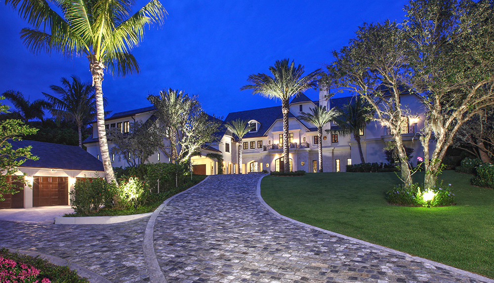 epitome of private oceanfront luxury on nearly 2 acres in